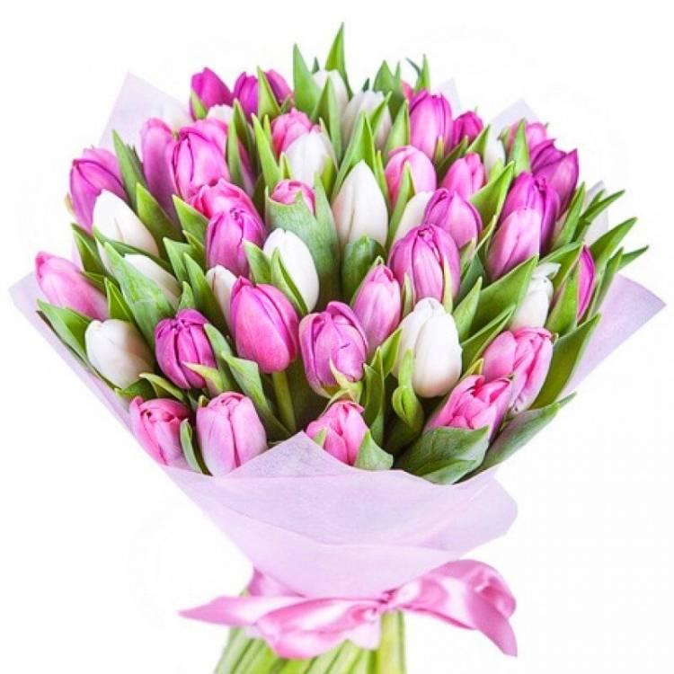 Картинки тюльпаны с букетами